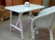 Table enfant en rotin